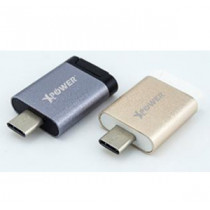 XPOWER CROC USB 3.1A TYPE-C OTG CARD READER – GOLD (XP-CROC-GD)