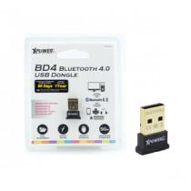 XPOWERPRO BD4 BLUETOOTD 4.0 USB DONGLE – BLACK (XPP-BD4-BK)