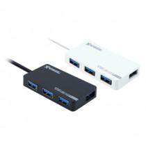 XPOWERPRO HU4 4-PORT USB 3.0 HUB – BLACK (XPP-HU4-BK)