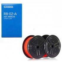 卡西歐 RB-02 紅黑雙色計數機用墨轆