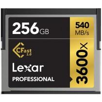 Lexar 256GB Professional 3600x CFast 2.0 card