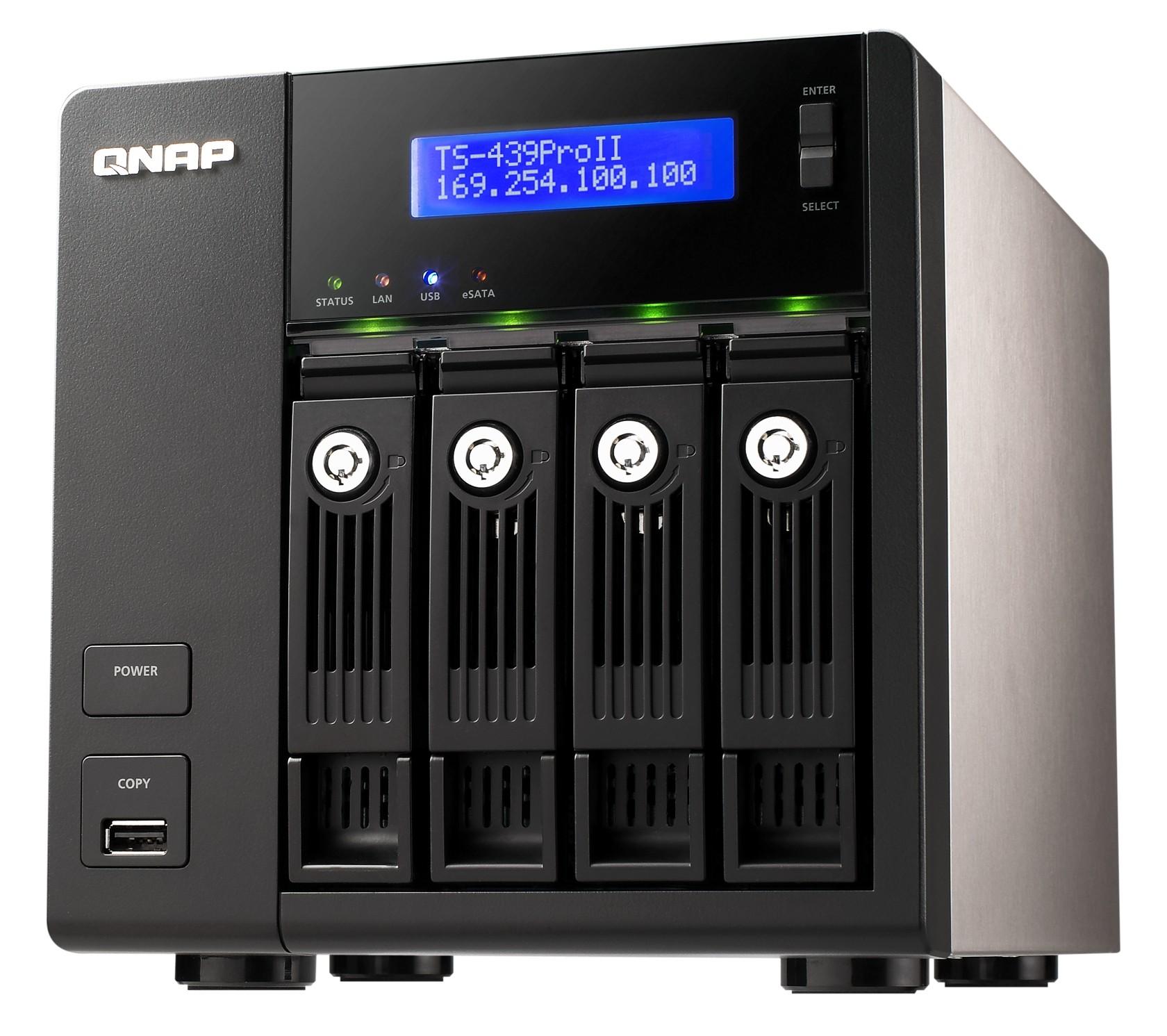 QNAP 4-Bay NAS TS-439 Pro II