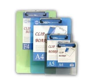 F4   透明雜色單板夾