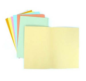 F4 一級紙文件套 - 橙色