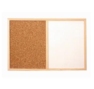 磁性白板 + 水松板 (900 x 1200mm)