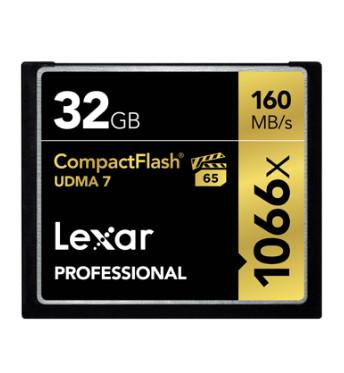 LEXAR CF PROFESSIONAL 1066X 32GB (LCF32GCRBAP1066)
