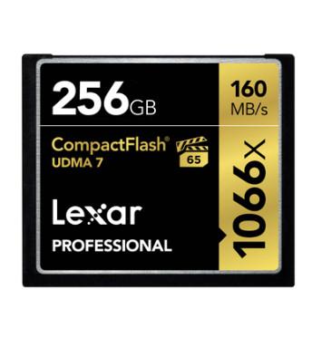 LEXAR CF PROFESSIONAL 1066X 256GB (LCF256CRBAP1066)