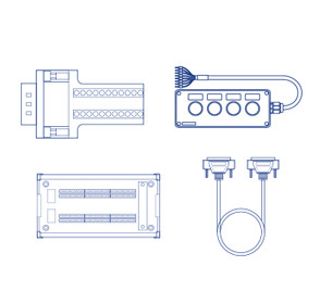 DOBOT M1 extentional suite Extentional Connector