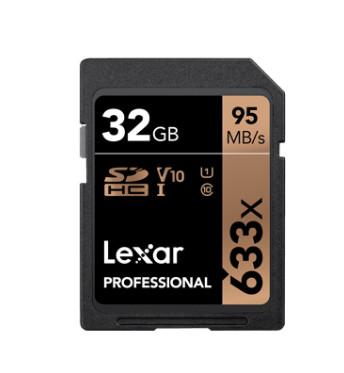 LEXAR SDHC 633X 32GB (LSD32GCB633)