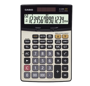 卡西歐 DJ-240D Plus (14位) 桌上計算機