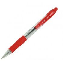 百樂牌 BPGP-10R-F 橡膠手柄按制原子筆 - 紅色