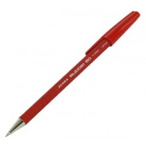 斑馬牌 R8000 橡膠安全原子筆 - 紅色