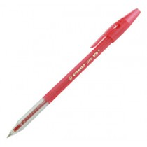 鵝仔牌 808 幼咀原子筆 - 紅色