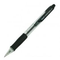 百樂牌 BPGP-10R-F 橡膠手柄按制原子筆 - 黑色