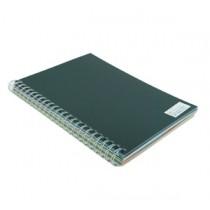 480gsm 單面皮紋夾咭 A4 - 黑色 (50張裝)