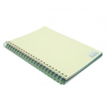 480gsm 單面皮紋夾咭 A4 - 米色 (50張裝)