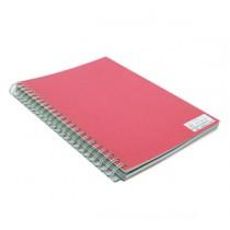 480gsm 單面皮紋夾咭 A4 - 紅色 (50張裝)