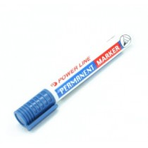 POWERLINE PM-880 圓咀箱頭筆 - 藍色