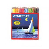 施德樓 137C24 水溶性木顏色筆