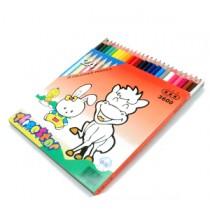 中華牌 6300-24 木顏色筆