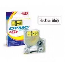 DYMO SC43613  D1 標籤帶  6mm x 7M (白底黑字)