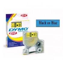 DYMO SC40916  D1 標籤帶  9mm x 7M (藍底黑字)