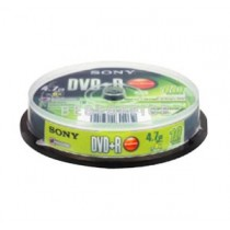 SONY 10DPR47 DVD+R 4.7GB/16X (10PCS/SPINDLE)