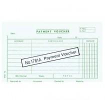 1781A 大本英文傳票 - PAYMENT