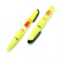 3M  689HL  紅色旗仔/黃色螢光筆
