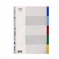 辦得事 6005 A4 五級彩色膠質分類索引 (加厚)