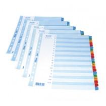 辦得事 6241 A4 咭紙質分類索引  (1- 12)
