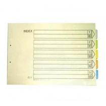 帝皇 1000E A3 五級彩色分類索引 (橫放式)