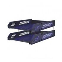 HR-223  A4 雙層文件盤 - 藍色