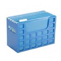 易達 迪高桌面 F4 掛袋存放盤 - 藍色