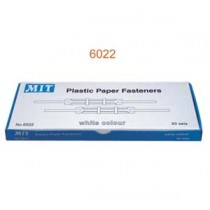 MIT 6022 白色包膠文件夾用扣 (8cm)