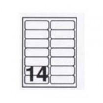 AVERY L7563-10 雷射列印專用透明郵寄標籤