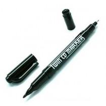 7L PM-012 雙頭光碟記號筆 - 黑色