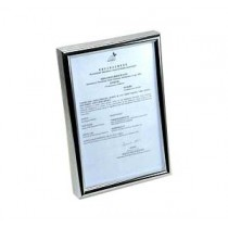 SM-BR 證件相架 - 銀框