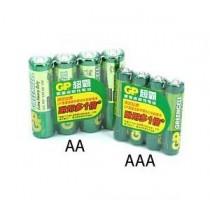 GP超霸 24G (AAA) 環保碳性電池 (4粒裝)