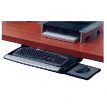 Fellowes FW8031201 高級鑽檯式鍵盤托