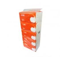 潔柔軟包面紙180張(5包裝)