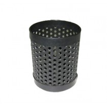 601 黑色圓型塑膠筆盅