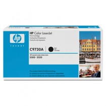 HP C9730A BLACK TONER CARTRIDGE FOR CLJ 5500