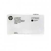 HP C9730AC BLACK TONER-WHITE BOX