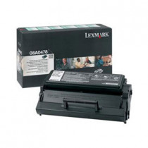 LEXMARK 08A0478 Black Toner (6K) For E322