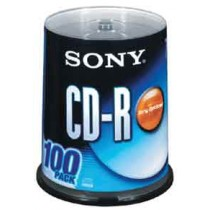SONY 100CDQ80S1 CDR 700MB/48X100隻裝