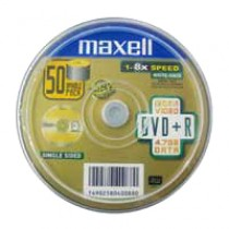 MAXELL DVD+R 4.7GB 16X 50隻裝