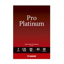 CANON PT-101-A4 PHOTO PAPER PRO PLATINUM (20 SHEETS)