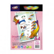 SHOGUN 300726 A4 DOUBLE SIDE COATED COLOR INKJET CARD 180 GSM 5