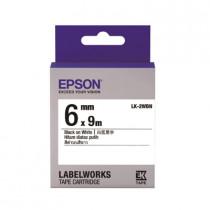 EPSON C53S652401 (LK-2WBN) BLACK ON WHITE 6MM